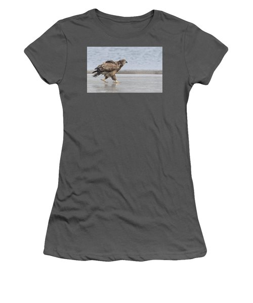 Walk Like An Eagle Women's T-Shirt (Athletic Fit)