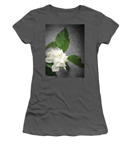 Women's T-Shirt (Junior Cut) featuring the photograph Wall Flower by Carolyn Marshall