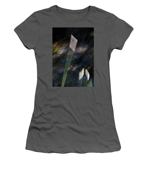 Wands Over Water Women's T-Shirt (Athletic Fit)