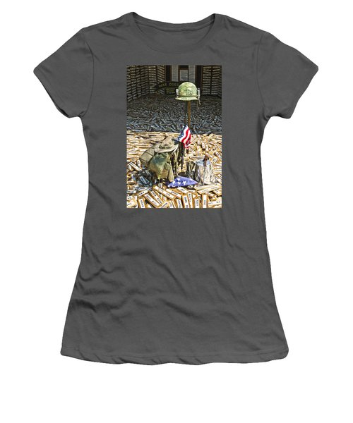 War Dogs Sacrifice Women's T-Shirt (Athletic Fit)