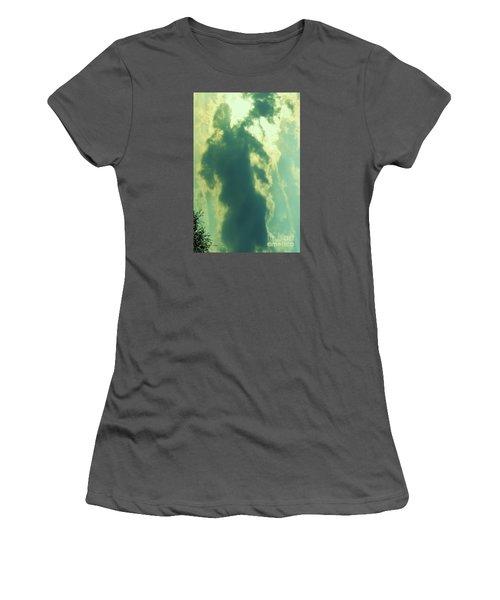 Women's T-Shirt (Junior Cut) featuring the photograph Warrior Hunter by Robin Coaker