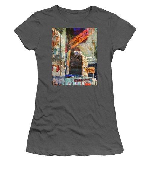 Washington Ave. 2 Women's T-Shirt (Athletic Fit)