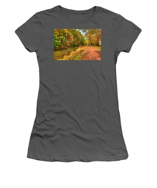 Washington Crossing Park Women's T-Shirt (Athletic Fit)