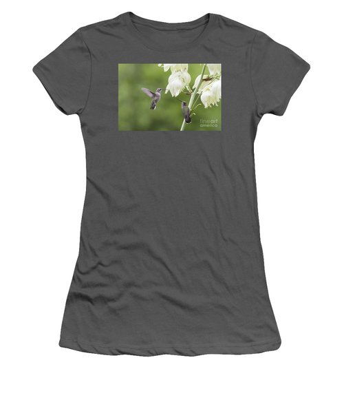 Watch And Learn Women's T-Shirt (Athletic Fit)