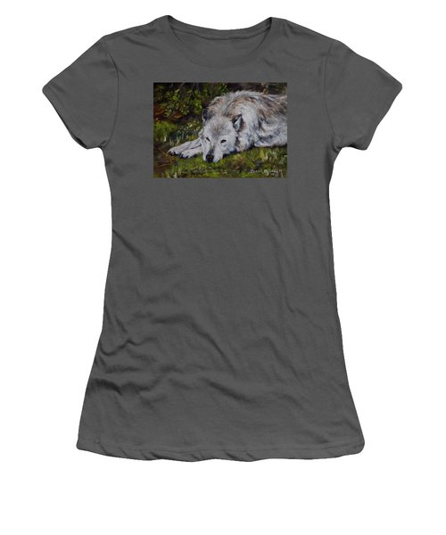 Watchful Rest Women's T-Shirt (Athletic Fit)