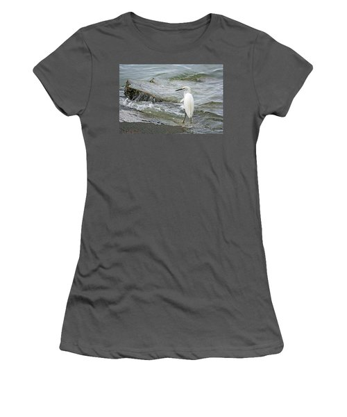 Watching The Tide Come In Women's T-Shirt (Athletic Fit)