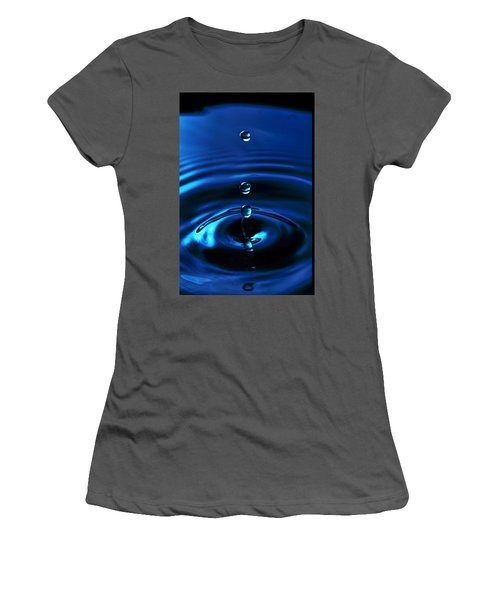 Water Drop Women's T-Shirt (Athletic Fit)