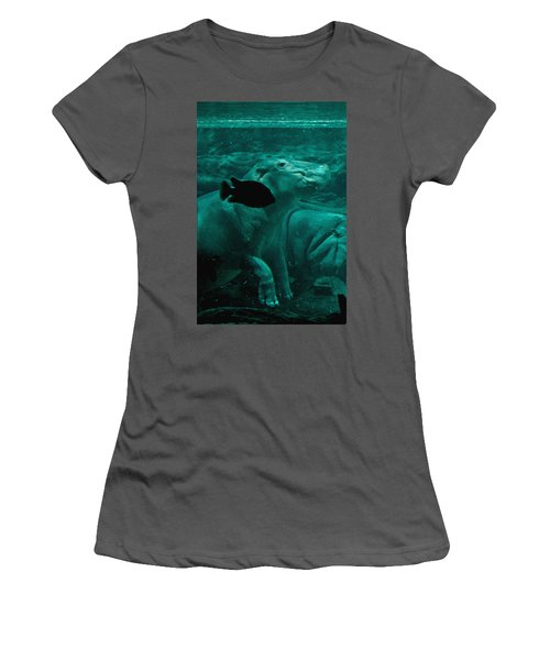 Water Horse Ballet Women's T-Shirt (Athletic Fit)