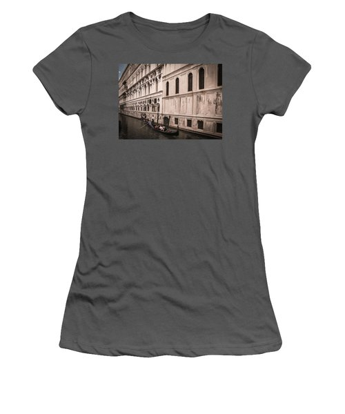 Water Taxi In Venice Women's T-Shirt (Athletic Fit)