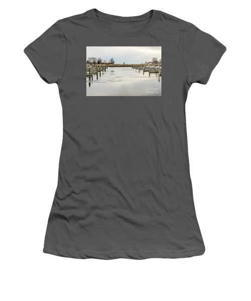 Waterfront Park In Ludington, Michigan Women's T-Shirt (Athletic Fit)