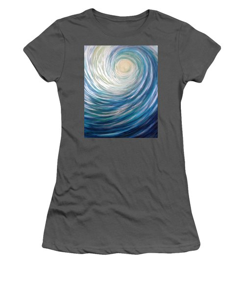 Wave Of Light Women's T-Shirt (Athletic Fit)