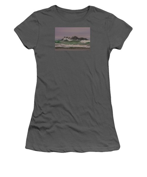Waves 1 Women's T-Shirt (Athletic Fit)