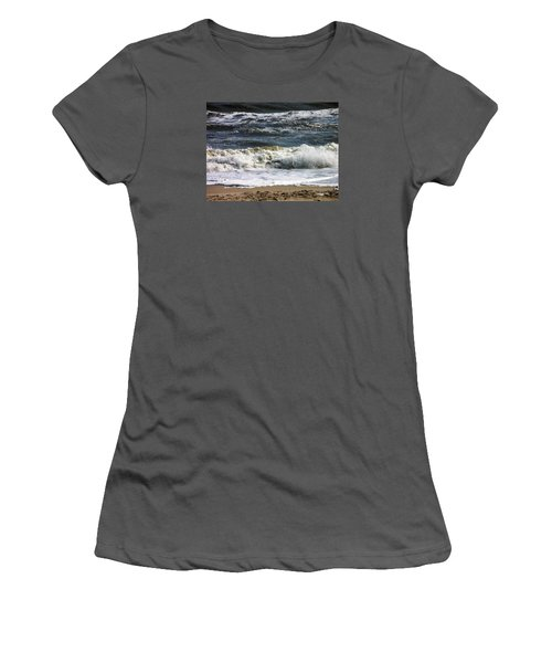 Waves, Waves, Waves Women's T-Shirt (Athletic Fit)