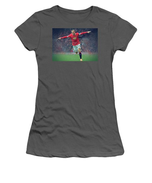 Wayne Rooney Women's T-Shirt (Athletic Fit)
