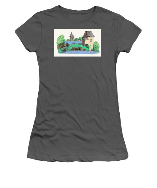 We Are Gone Fishing, Eh? Women's T-Shirt (Athletic Fit)