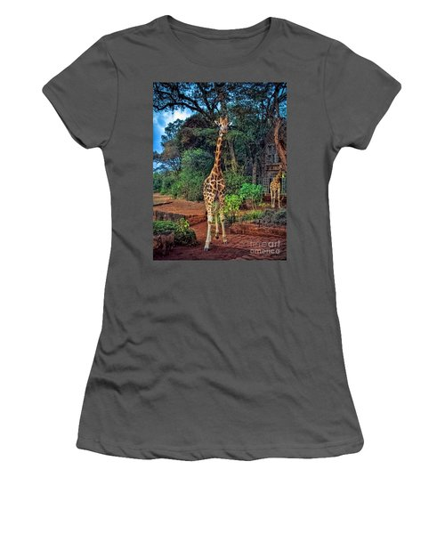 Welcome To Giraffe Manor Women's T-Shirt (Athletic Fit)