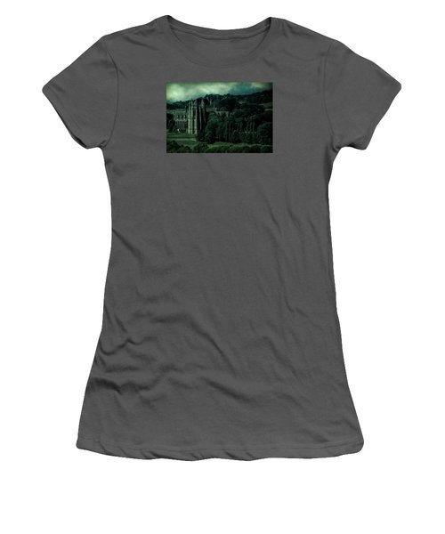Women's T-Shirt (Athletic Fit) featuring the photograph Welcome To Wizardry School by Chris Lord
