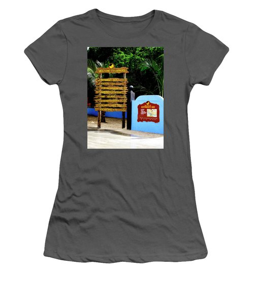 Welcome To Labadee Women's T-Shirt (Athletic Fit)