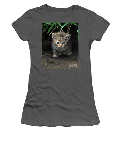 Welcome To The Jungle Women's T-Shirt (Junior Cut) by Eric Liller