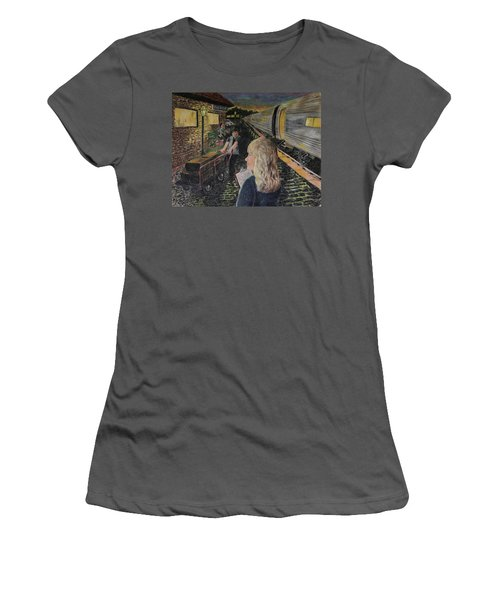 Welcoming The Guests Women's T-Shirt (Athletic Fit)