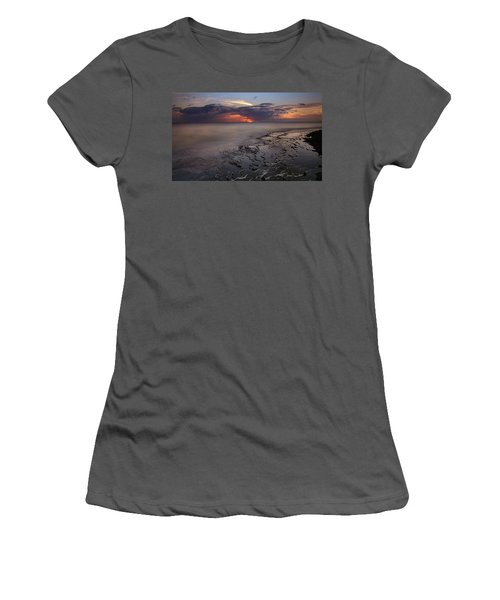 West Oahu Sunset Women's T-Shirt (Athletic Fit)