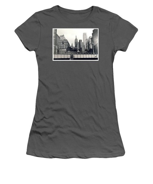 West Side Highway Women's T-Shirt (Athletic Fit)