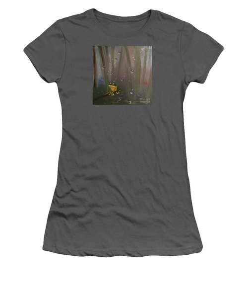 What Women's T-Shirt (Athletic Fit)