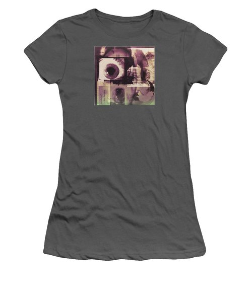 What Does The Eye See Women's T-Shirt (Junior Cut) by Cathy Anderson