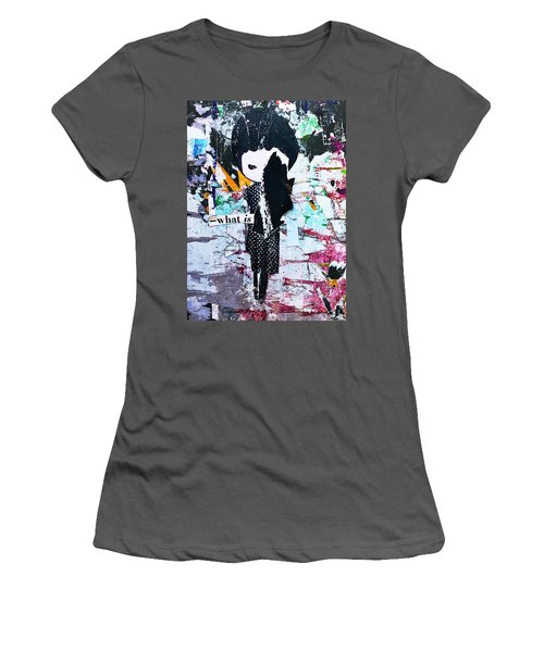 What Is ... Women's T-Shirt (Athletic Fit)