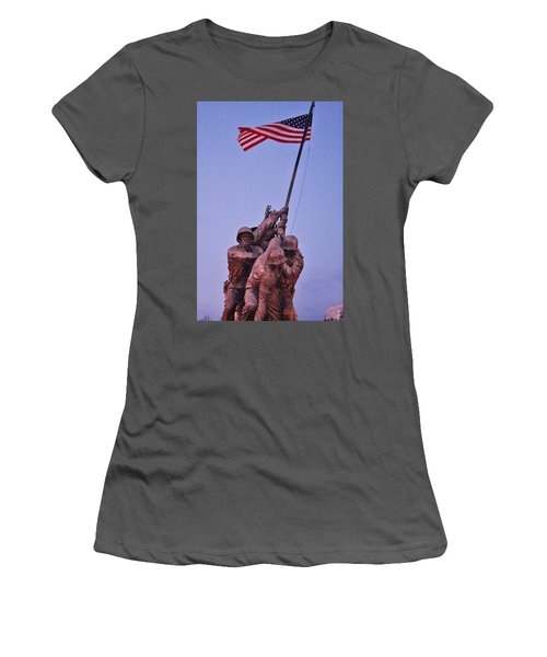 Women's T-Shirt (Athletic Fit) featuring the photograph What Matters Is Winning... by Vadim Levin