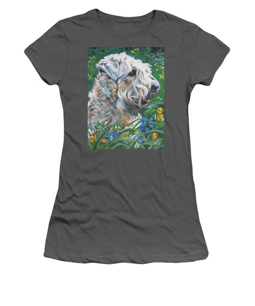Wheaten Terrier Women's T-Shirt (Athletic Fit)