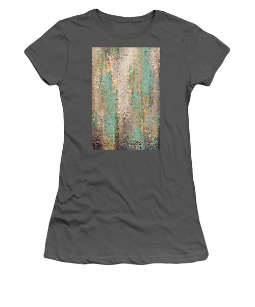 Where Are You God. Hebrews 4 12 Women's T-Shirt (Junior Cut) by Mark Lawrence