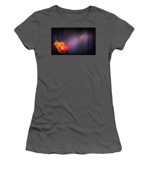 Whispering Wings 1 Women's T-Shirt (Junior Cut) by Mark Dunton