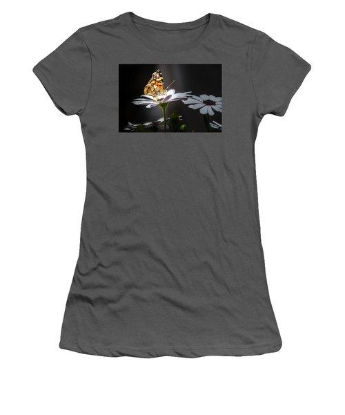 Whispering Wings II Women's T-Shirt (Junior Cut) by Mark Dunton