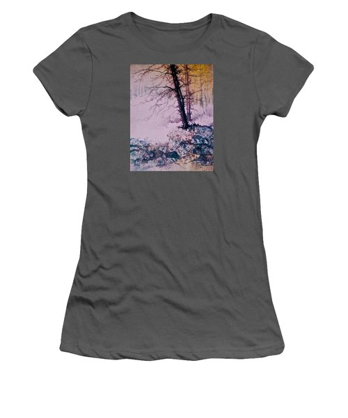 Whispers In The Fog  Partii Women's T-Shirt (Athletic Fit)