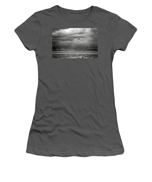 White Mountain Women's T-Shirt (Athletic Fit)