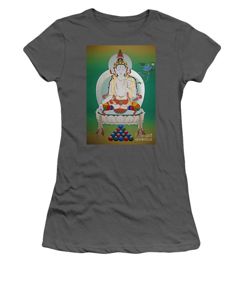 White Tara Women's T-Shirt (Athletic Fit)