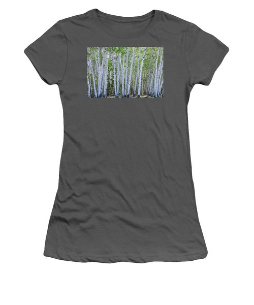 White Wilderness Women's T-Shirt (Junior Cut) by James BO Insogna