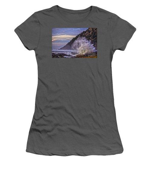 Whitewash Women's T-Shirt (Junior Cut) by Billie-Jo Miller