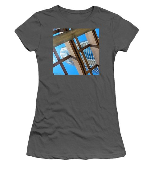 #whplowaltitude, A #view Of A Women's T-Shirt (Athletic Fit)