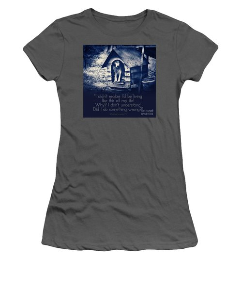 Why Am I Living Like This Women's T-Shirt (Athletic Fit)