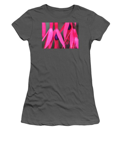 Wild Oregon Fuchsia  Women's T-Shirt (Athletic Fit)
