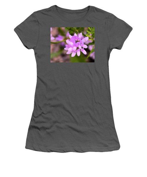 Wildflower Or Weed Women's T-Shirt (Junior Cut) by Kathy Eickenberg
