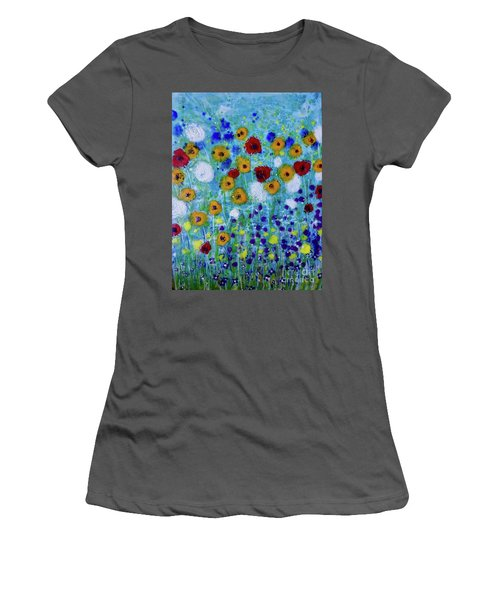 Wildflowers Never Die Women's T-Shirt (Athletic Fit)