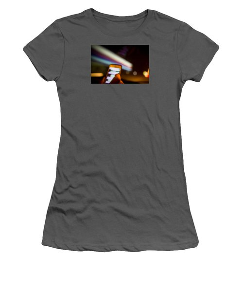 Will Be At Home In 5 Minutes Women's T-Shirt (Junior Cut) by Cesare Bargiggia