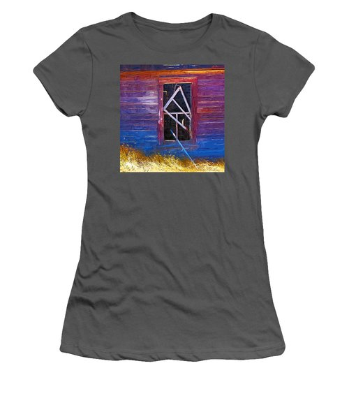 Women's T-Shirt (Junior Cut) featuring the photograph Window-1 by Susan Kinney