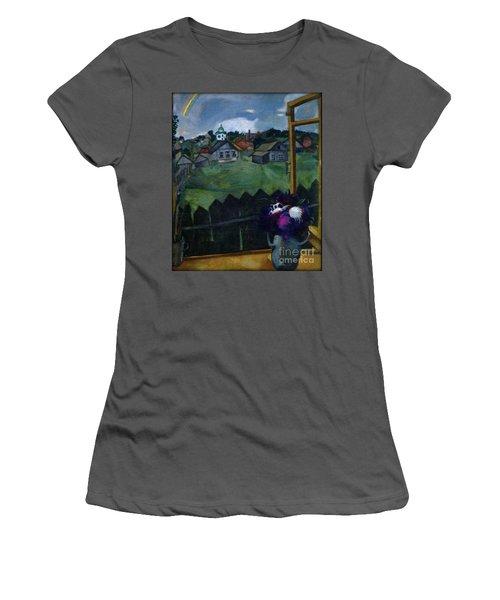 Window At Vitebsk Women's T-Shirt (Athletic Fit)