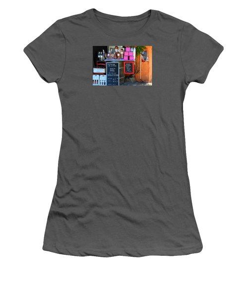 Women's T-Shirt (Junior Cut) featuring the photograph Wine Cellar by Richard Patmore