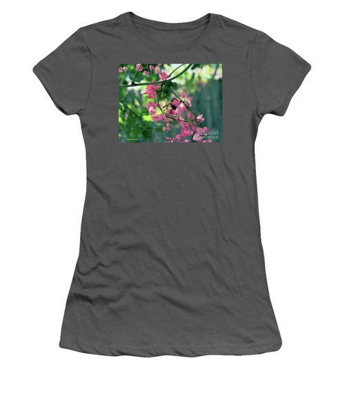 Women's T-Shirt (Athletic Fit) featuring the photograph Wings by Megan Dirsa-DuBois