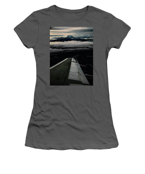 Wings Over Rainier Women's T-Shirt (Athletic Fit)